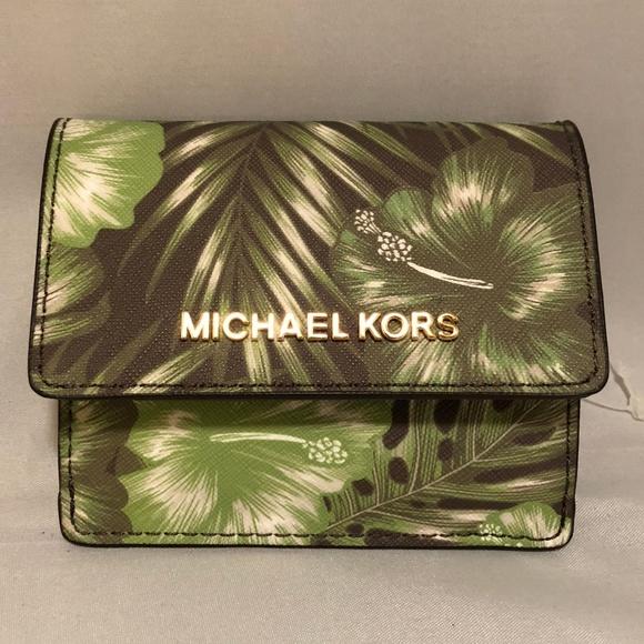 8061e59b0fd9e2 Michael Kors Bags | Jet Set Card Case Id Key Holder | Poshmark